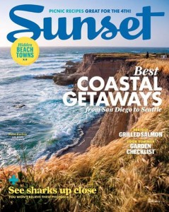 Sunset Magazine July 2013 issue