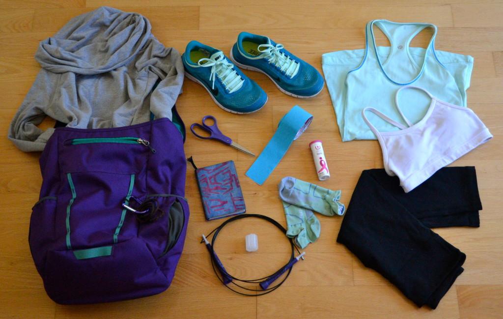 CrossFit running gym bag essentials