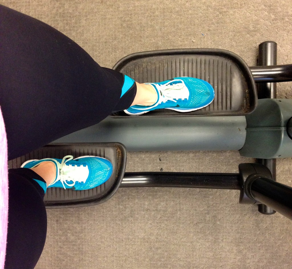 elliptical injury recovery running plantar fasciitis treading lightly
