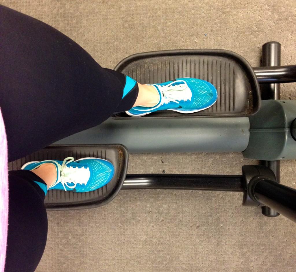elliptical injury recovery running plantar fasciitis treading lightly