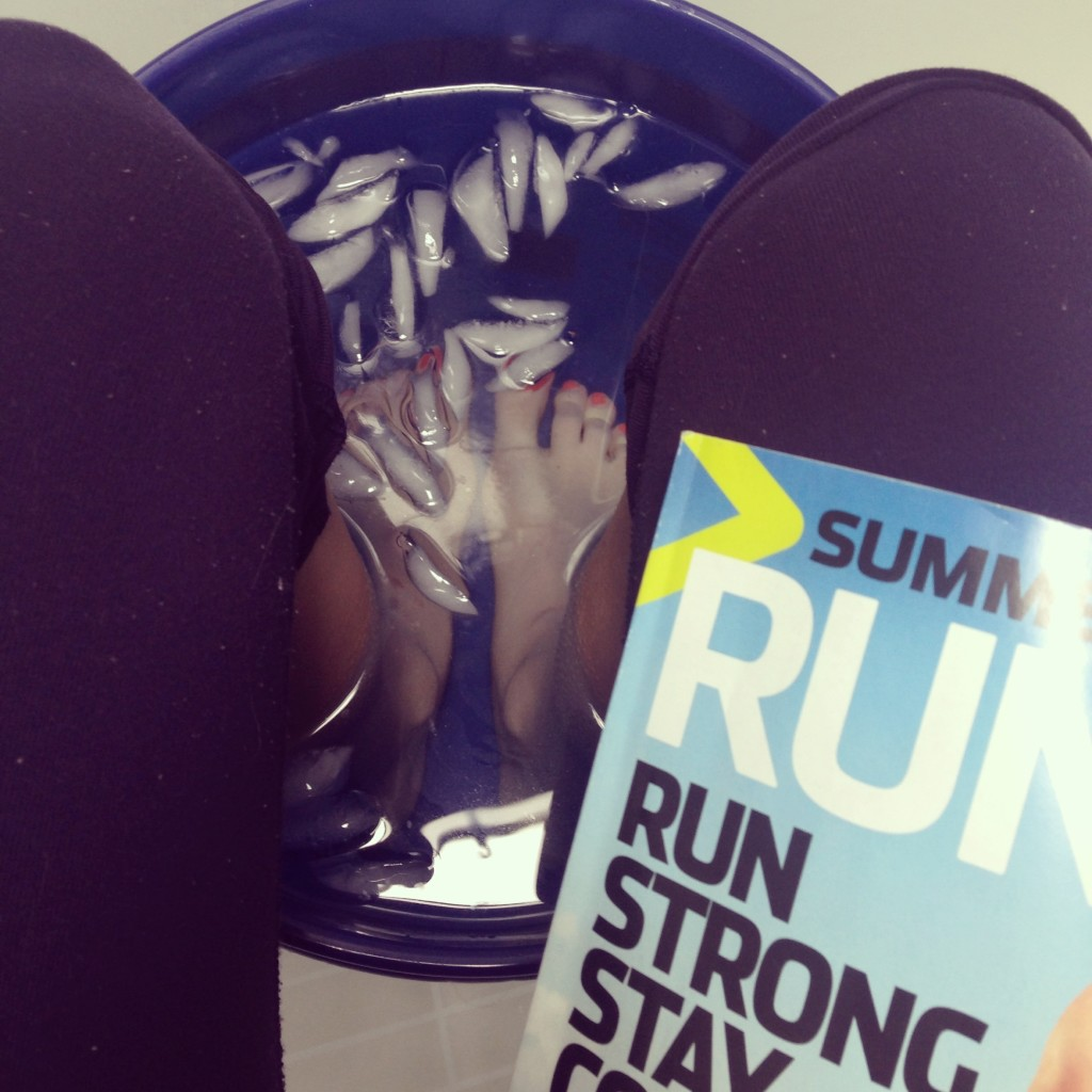 Runner's World Ice Bath Running Recovery