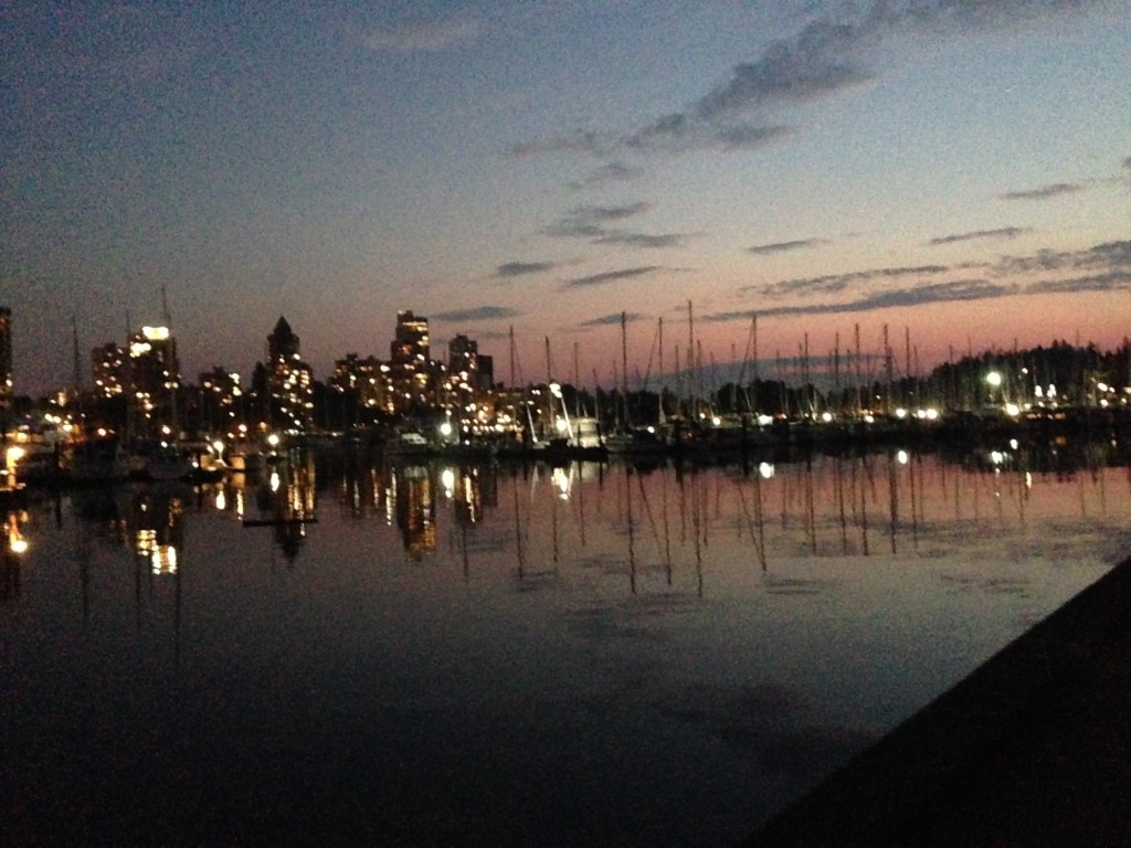 Vancouver-stanely-park-sunset