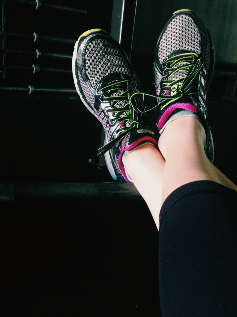 Barbells are for getting stronger... and rolling out your tight, crunchy calves.