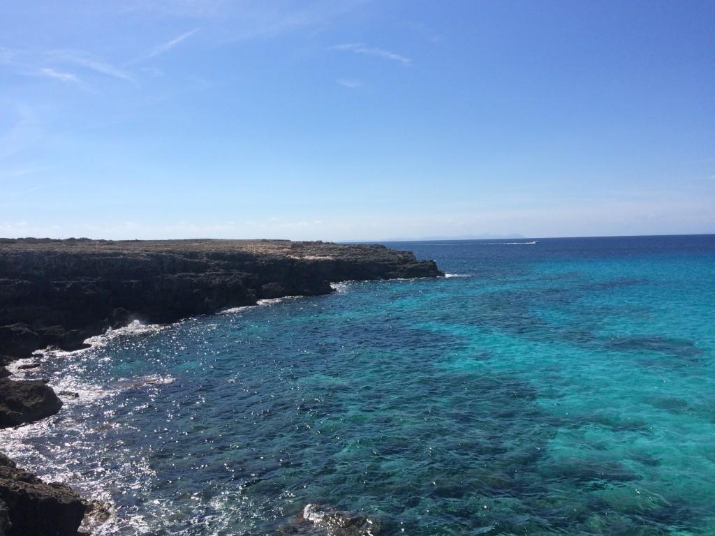 Camí-de-cavalls-Menorca-minorca-cami-de-cavalls-south-of-Ciutadella-running-waterfront
