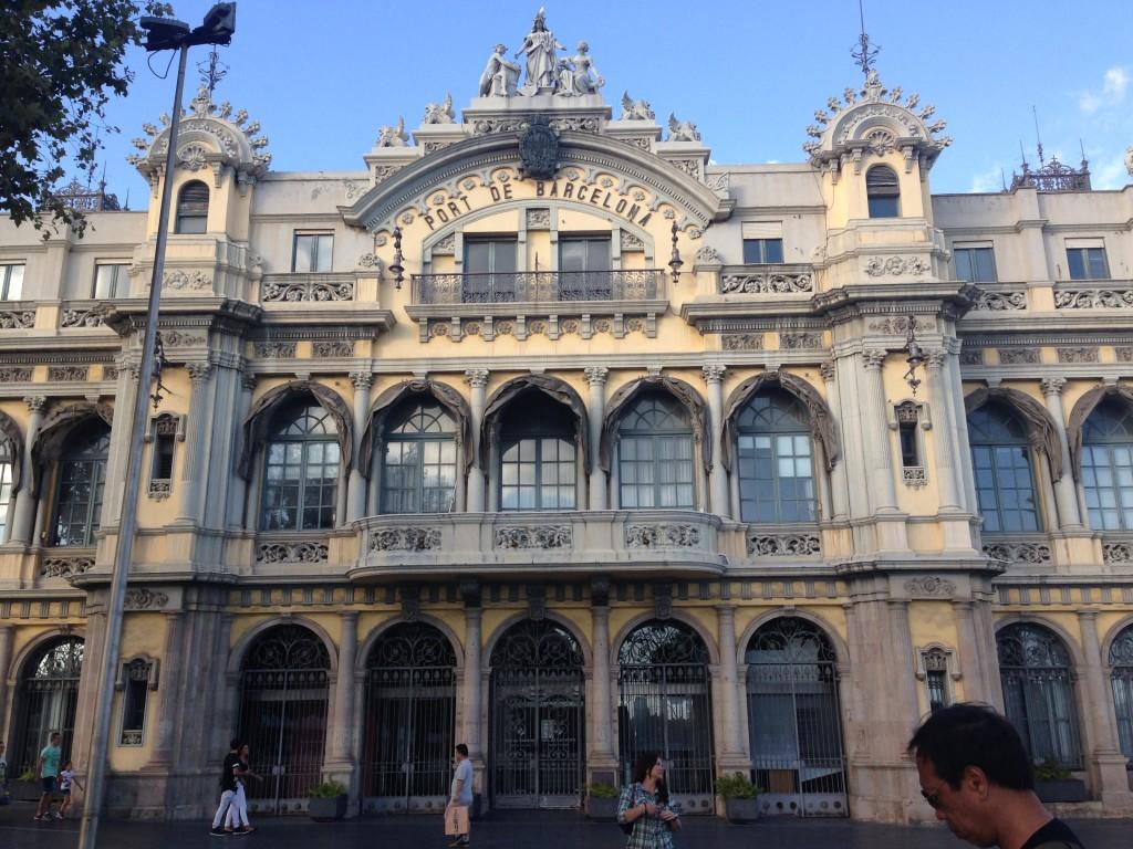 port-de-barcelona-spain