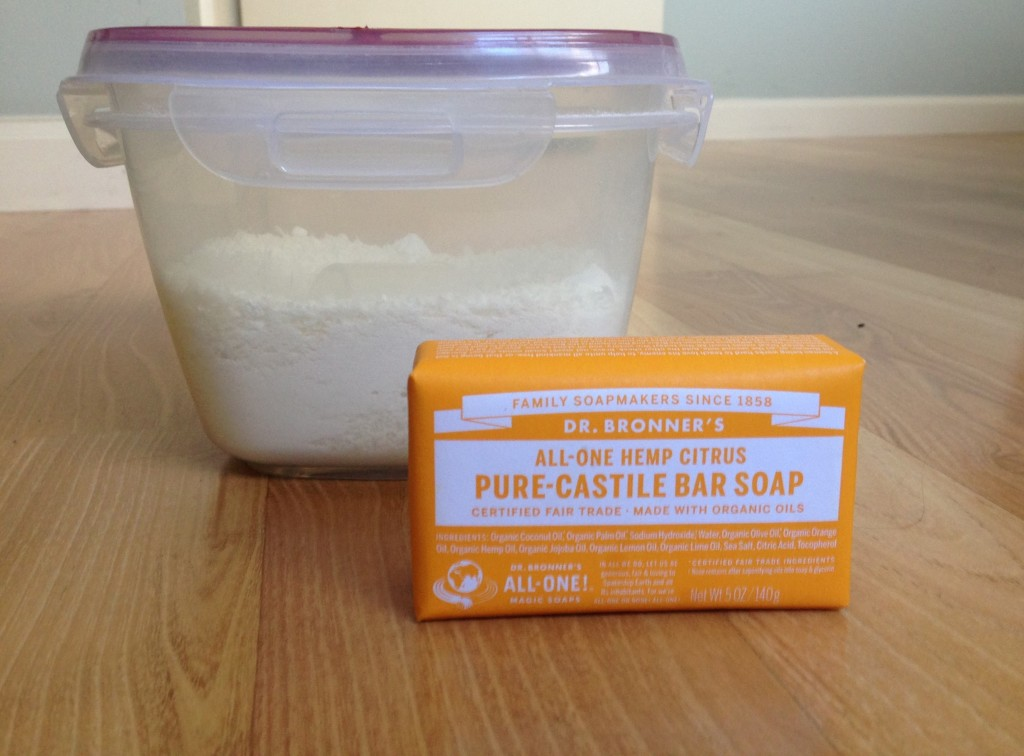 Homemade Castile Laundry Soap -homemade-castile-laundry-soap-recipe-natural-safe-sustainable
