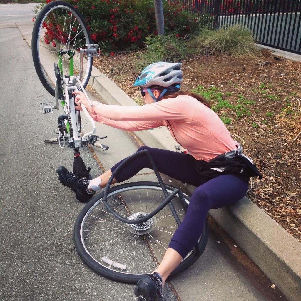 six months flat tire