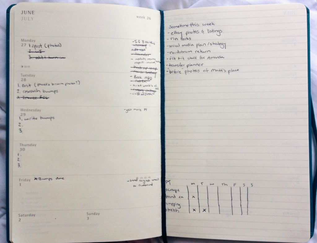 How to get it all done-how-to-get-it-all-done-moleskin-weekly-planner-17-months