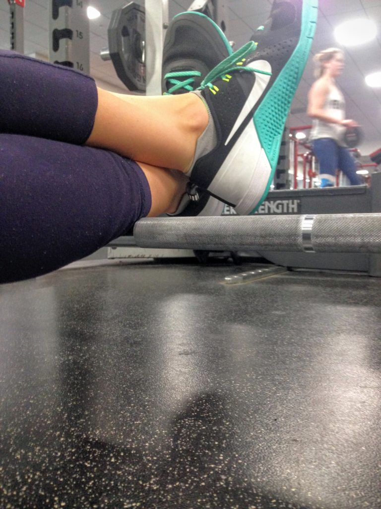 rolling-out-tight-calves-on-barbell-8-months-post-ankle-injury-how-to-naturally-ease-sore-muscles