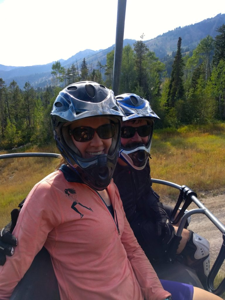 7 Days in Teton Village Wyoming – Downhill Mountain Biking Ski Lift