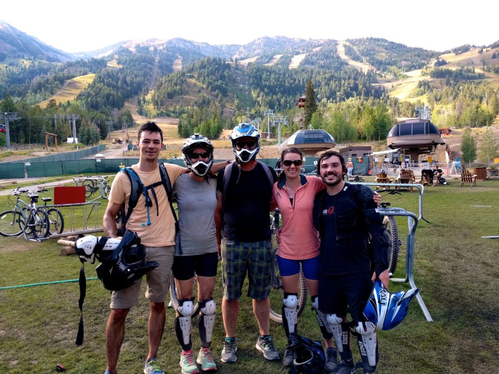 7 Days in Teton Village Wyoming – Downhill Mountain Biking Trails