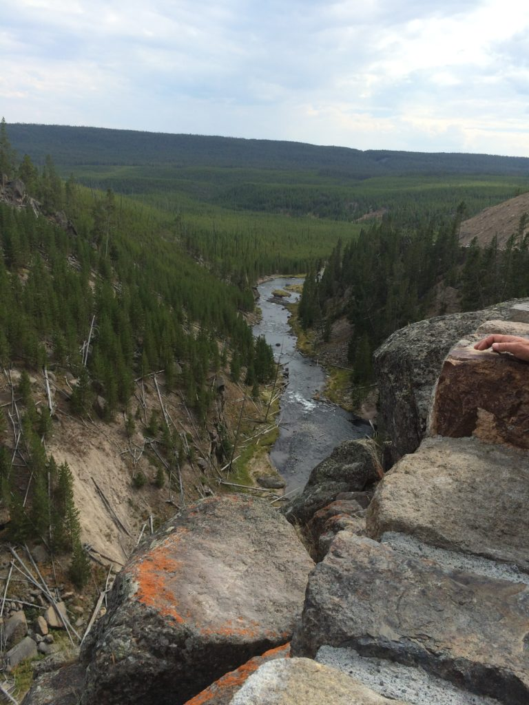 One Day in Yellowstone National Park – Gibbon Falls