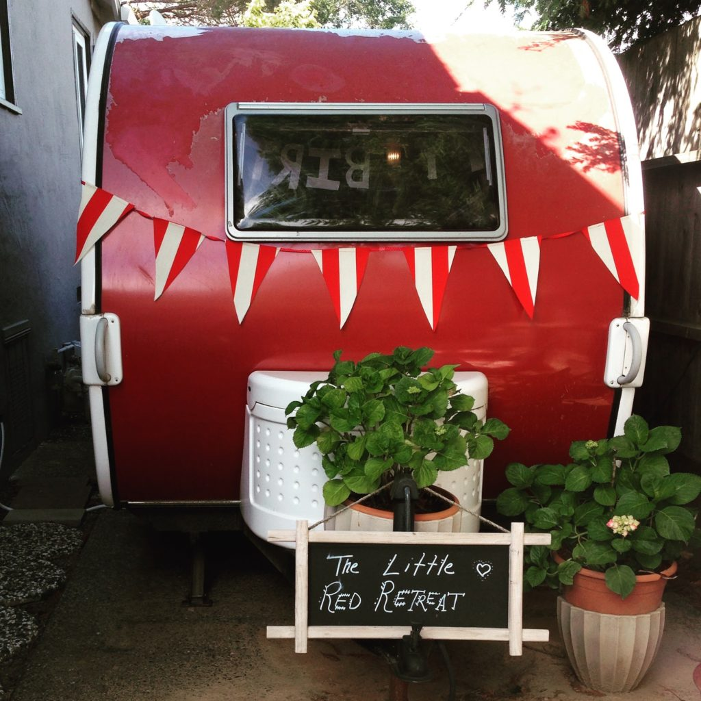 Tiny House and Vanlife Living #vanlife-trailer-living-converted-bus-little-red-retreat