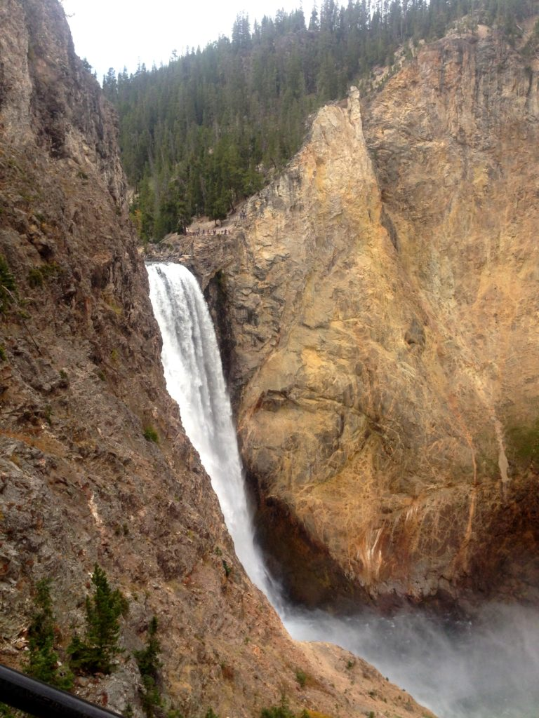 One Day in Yellowstone National Park – Lower Falls