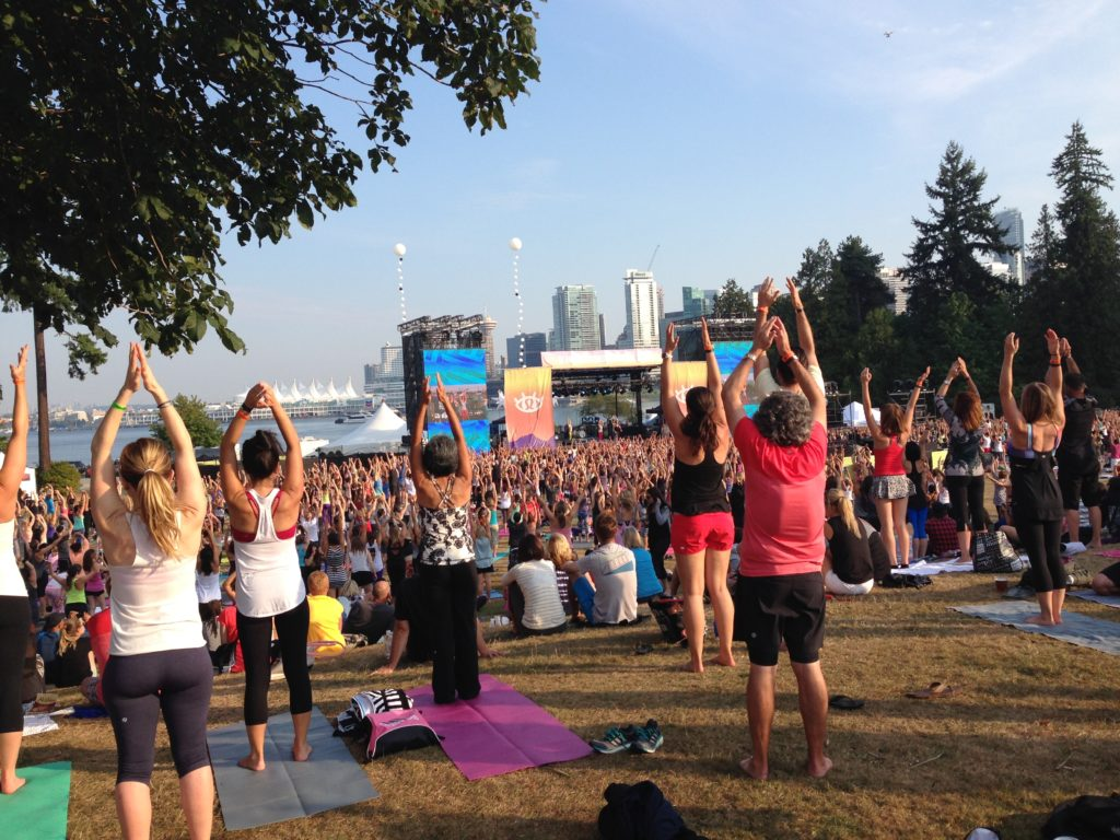 Benefits of Yoga for Recovery – SeaWheeze 2014