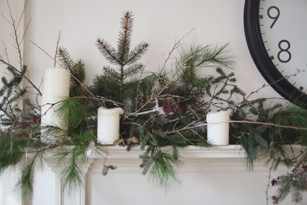 Zero Waste Christmas Decorations – Foraged Garland Style Me Pretty
