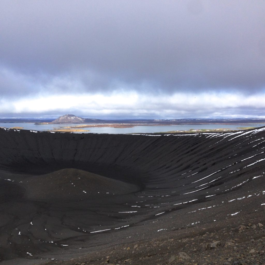 Iceland Ring Road Itinerary: Hverfjall Crater
