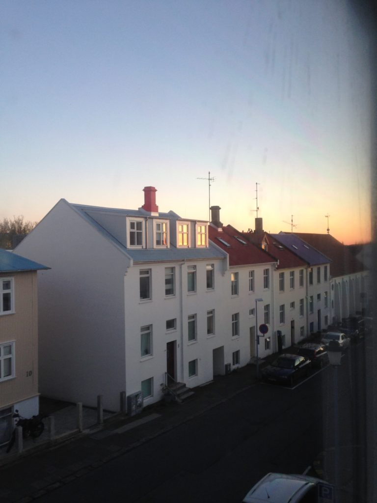 Iceland Ring Road Itinerary: Reykjavik Sunset