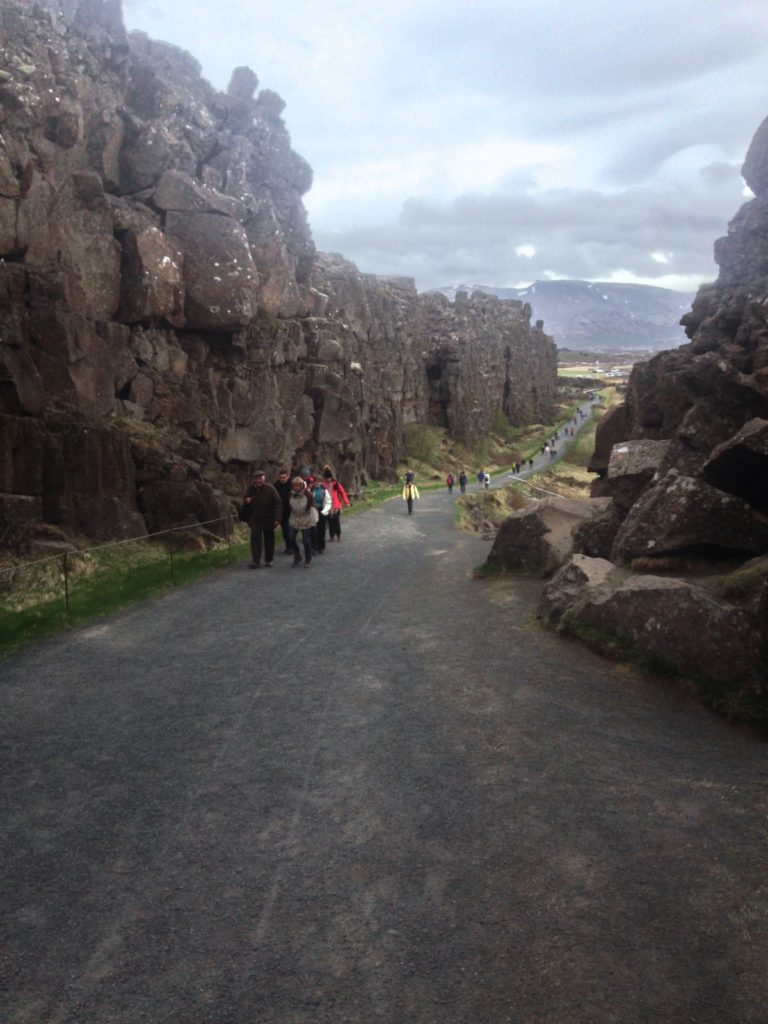 Iceland Pingvellir National Park Tectonic Plates