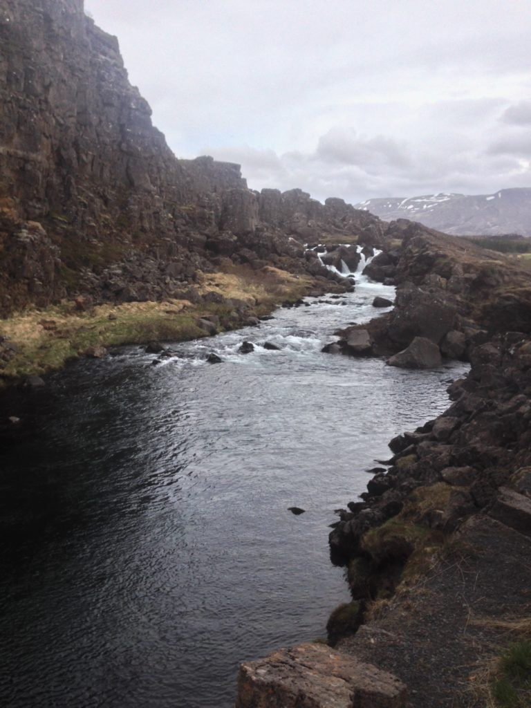 Iceland Pingvellir National Park Tectonic Plates River