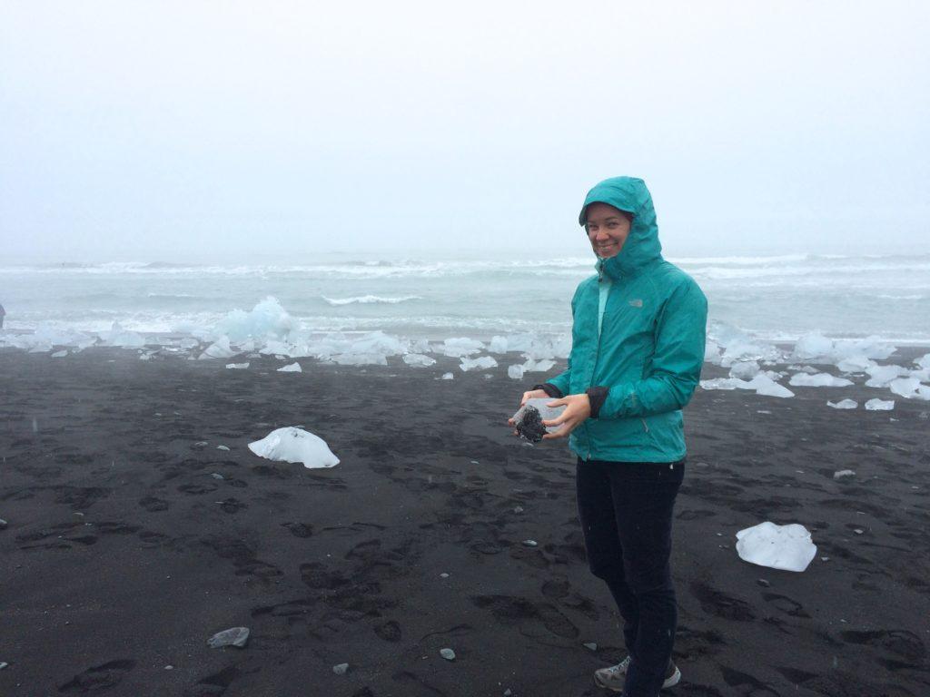Iceland Ring Road Itinerary: Jökulsárlón Glacier Lagoon Beach