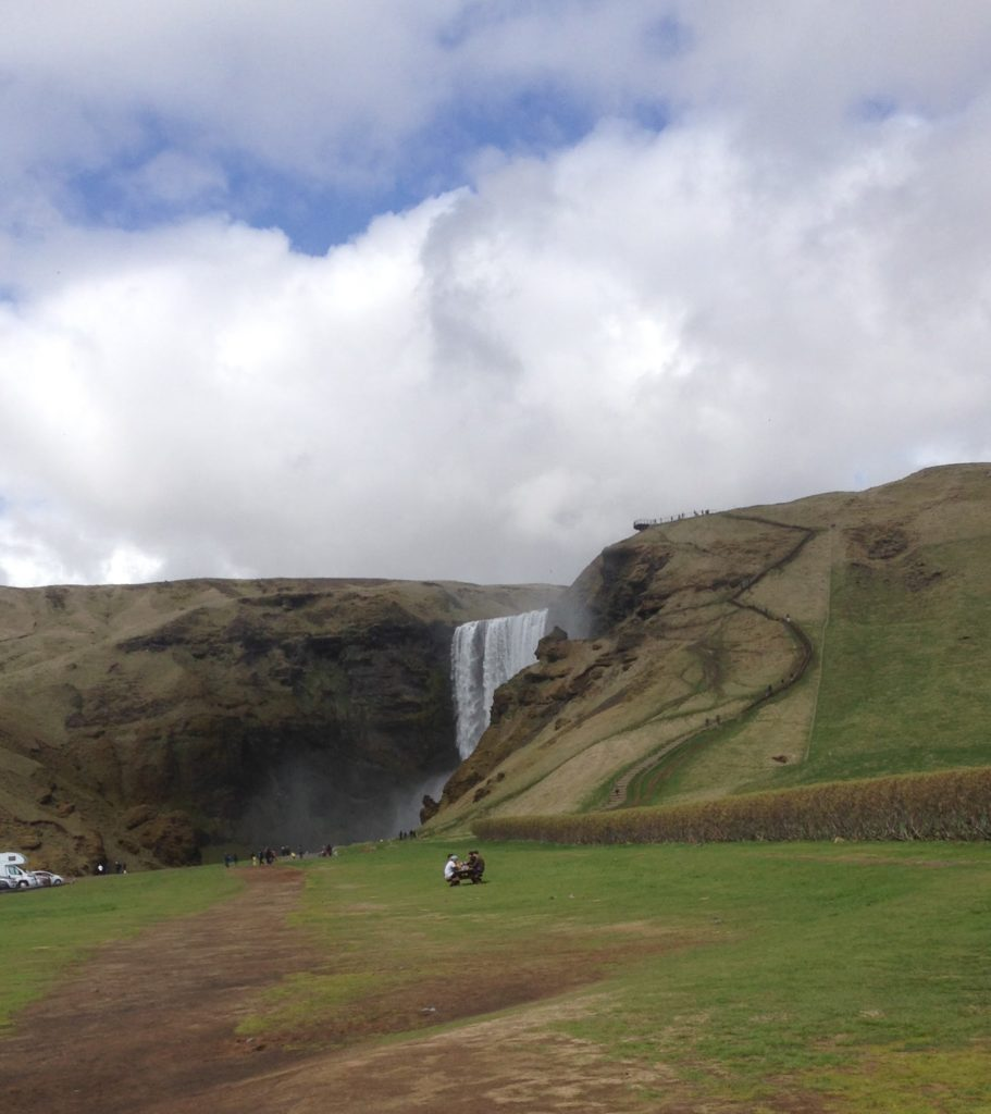 Iceland Ring Road Itinerary: Skógafoss Waterfall