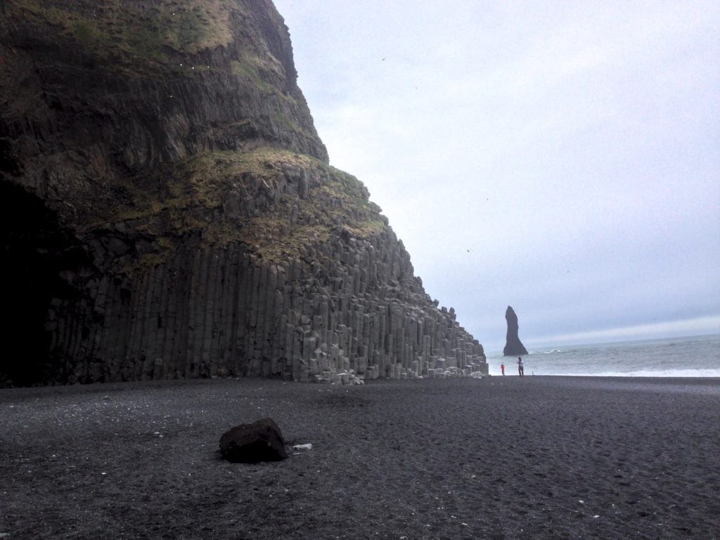 Iceland Ring Road Itinerary: Reynisfjara (Black Sand Beach)