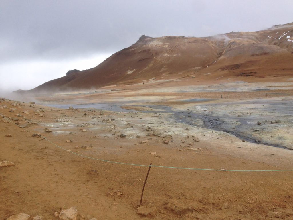 Iceland Ring Road Itinerary: Hverarond Geothermal Area