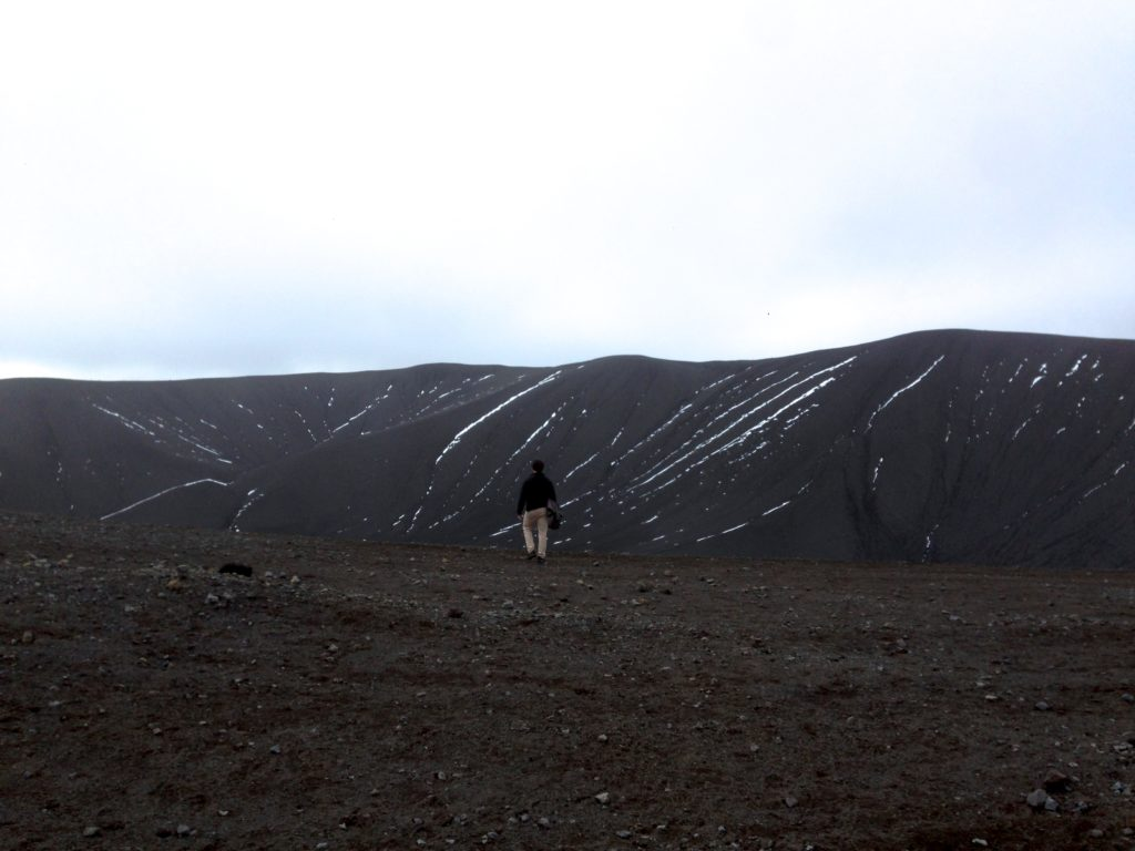 Icland Ring Road Itinerary: Hverfjall