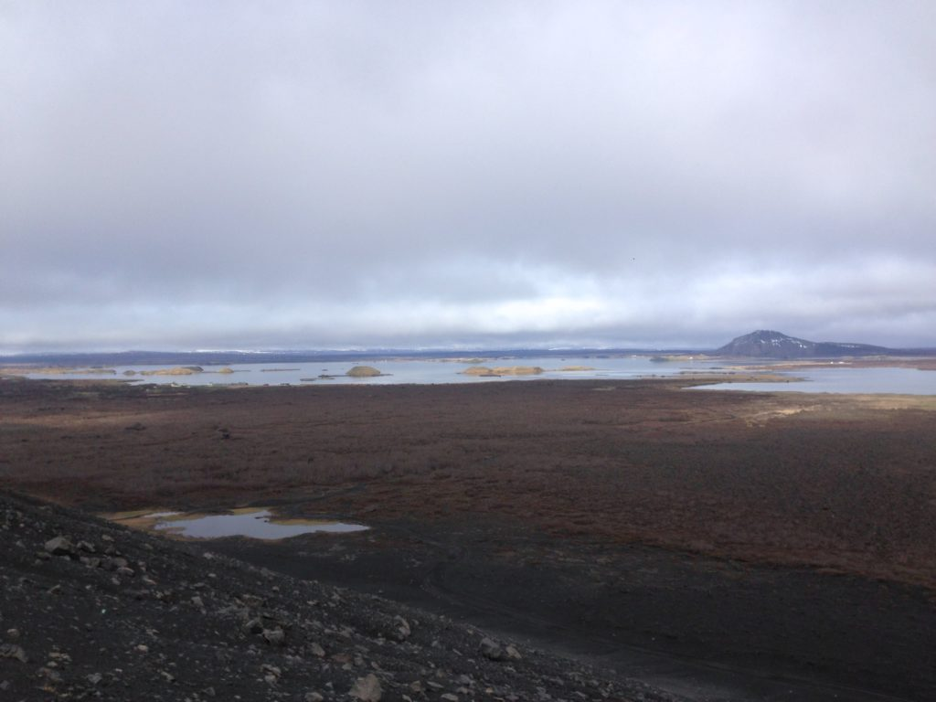 Iceland Ring Road Itinerary: Hverfjall Views