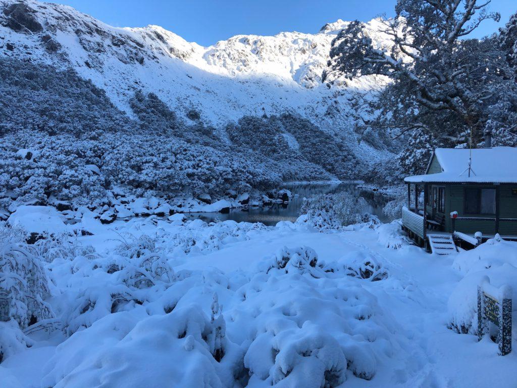 Routeburn Track Mackenzie Lake Ranger Hut
